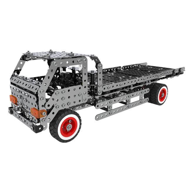 Конструктор SW-042 метал, машина, викрутка,935дет, в кор-ке, 36-23,5-4см