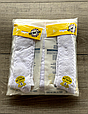 Детские демисезонные колготки KBS хлопок для девочек белого цвета с выпуклым узором, фото 3