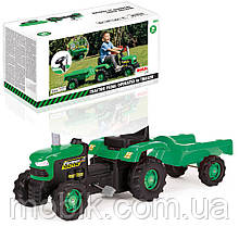 Трактор на педалях DOLU (8053) с прицепом, 39,5*83,5*43,5 см