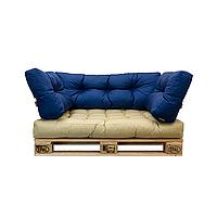 Подушки и матрасы для диванов из поддонов и садовой бескаркасной мебели