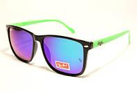 Окуляри сонцезахисні Ray Ban зелений дзеркало