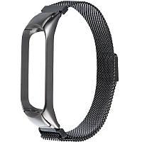 Xiaomi Milanese Loop (Metal) For Mi Band 3/4 Grey(Ремешек Миланская петля), фото 1