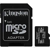 Карта памяти microSDHC 32Gb KIngston Canvas Select Plus A1 (UHS-1) (R-100Mb/s) + Adapter SD