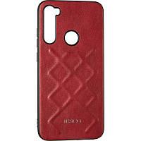Jesco Leather Case for Xiaomi Redmi Note 8t Red, фото 1