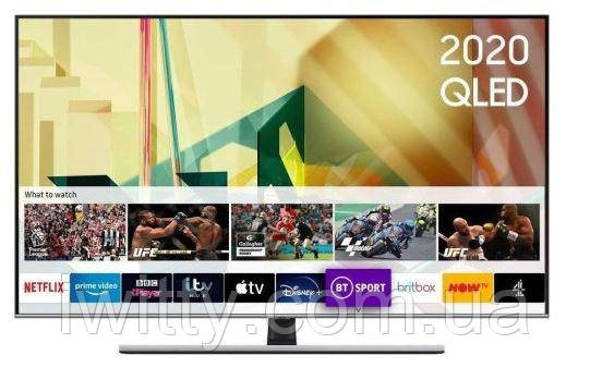 """Телевизор Samsung 75"""" QE75Q75T I 4K I Smart TV I 120Hz + ПОДАРОК ( КРЕПЛЕНИЕ НА СТЕНУ )"""
