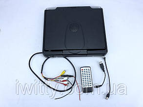 """Телевізор 12,1""""TFT Стельовий 1398 SD/MMC/USB/AVх2 вхід TV тюнер Grey"""