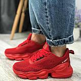 Кросівки BaaS 1663-8 Ж 579230 Червоні, фото 2