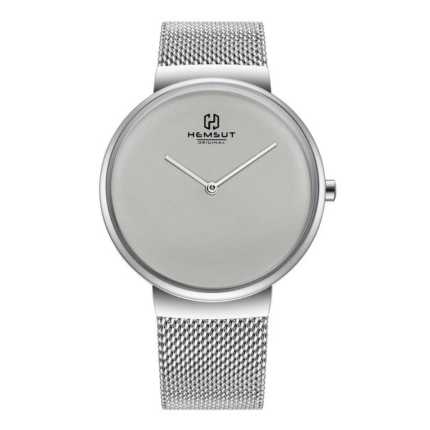 Hemsut Чоловічі годинники Hemsut Men Grey