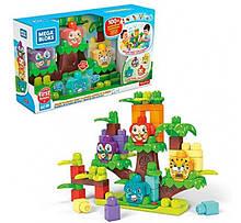 Конструктор компанії мега блокс Будиночок на дереві Jungle Treehouse Mega Bloks