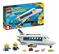 Конструктор Лего Lego Minions Миньоны тренировочный полет 75547