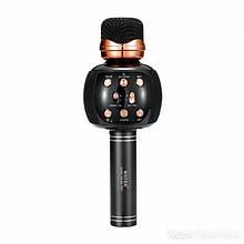 Микрофон караоке M137 с колонкой (Black)