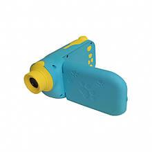 Детская цифровая видео камера C138 с картой памяти (Синий)