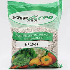 Удобрение гранулированное комплексное NP 10-32, упаковка 1 кг УкрАгро