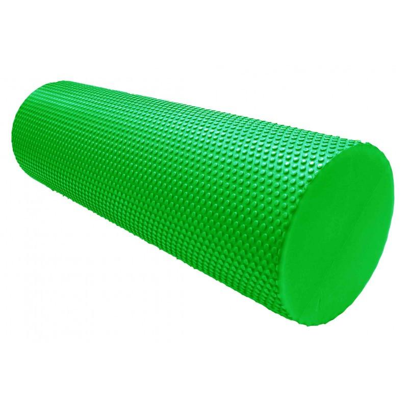Масажний ролик для фітнесу і аеробіки Power System Fitness Roller PS-4074 Green (45*15)