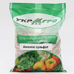 Аммония сульфат удобрительный, упаковка 1 кг УкрАгро