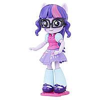 Ігровий набір шарнірна Лялька Твайлайт Спаркл зі змінним одягом - Equestria Girls Minis Моди My Little