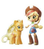 Ігровий набір Эплджек поні і лялька Моя Маленька Поні - My Little Pony Applejack Pony Doll and Set, Hasbro