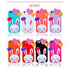 Чохол Cute Heart Hello Rabbit Фіолетовий для IPhone 5/5S, фото 3