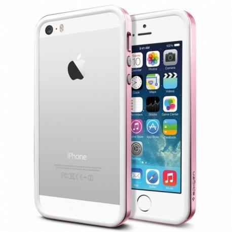 Бампер SGP Neo Hybrid EX Slim White/Pink для iPhone 4/4S