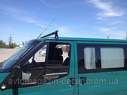 """Багажник мод. Ford Transit 2002- низкая крыша/в сборе с квадр.поперечиной  (1,8м) """"Кенгуру"""" 1планка"""