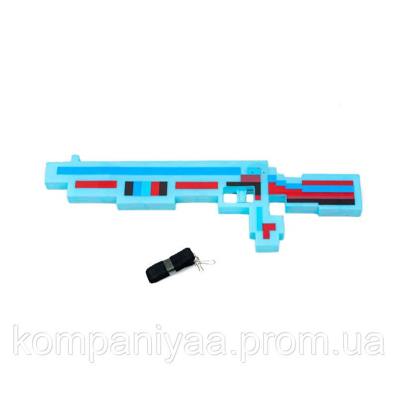 Детский игрушечный дробовик 809A (Голубой)