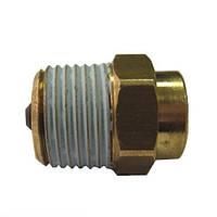 Відсічний клапан AFRISO внутр. 3/8 x зовн. 1/2 (77918)