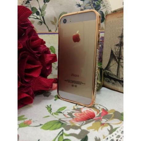 Бампер NEWSH для IPhone 5/5s Розовое золото