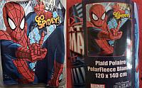 Плед флисовый Человек паук 140х120, фото 1