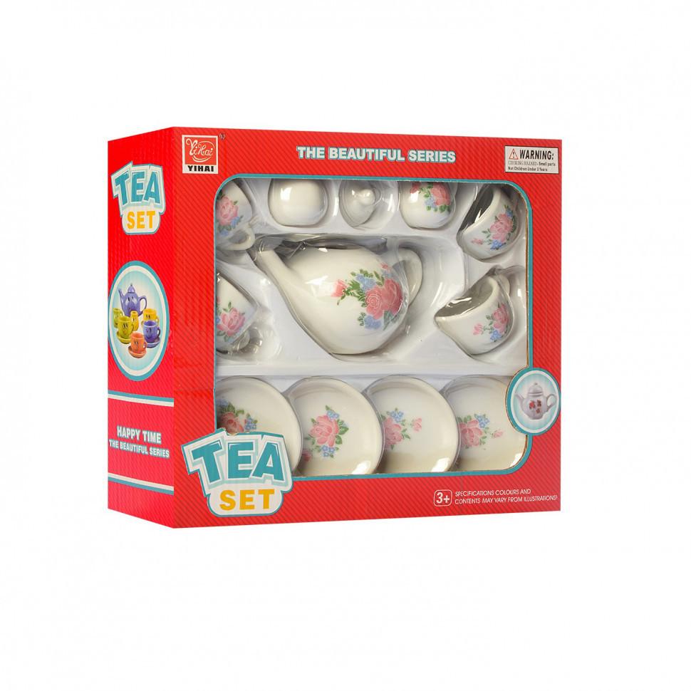 Детский набор посуды YH5989-01-05 (Цветы)