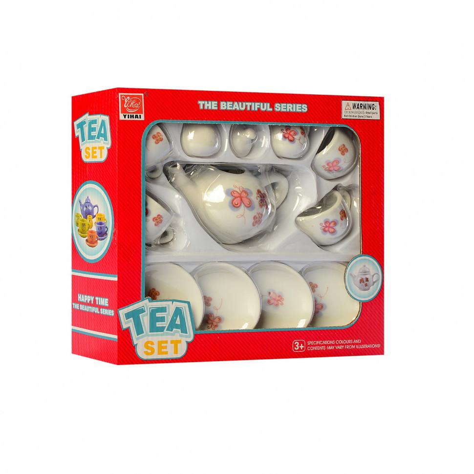Детский набор посуды YH5989-01-05 (Бабочки)