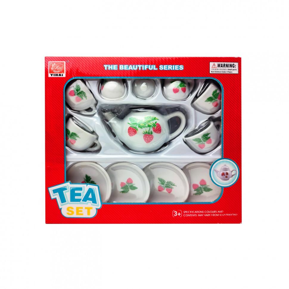 Детский набор посуды YH5989-01-05 (Клубника)