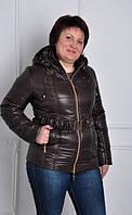 TM Ozze Куртка женская К 130 шоколад OZZE