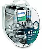 Лампа галогеновая Philips RacingVision H7 + 150% v12, фото 2