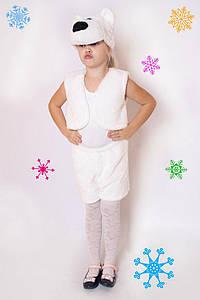 Дитячий Карнавальний хутряний костюм Умка, костюм ведмедика, новорічні костюми
