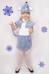 Дитячий Карнавальний хутряний костюм Мишка,костюм мишеняти, новорічні костюми
