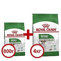 Royal Canin Adult Mini 4кг +0,8 кг корм для собак міні порід