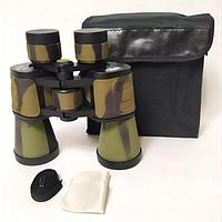 Бинокль BAIGISHI W09 для охоты, рыбалки, туризма с прорезиненным корпусом и конструкцией Porro 20х50