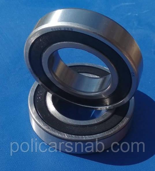 Підшипник кочення 6209 2RS радіальний однорядний ущільнений марки CX шарикопідшипник закритого типу сталевий