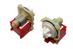 Насос сливной для стиральной машины, Copreci 144484, Bosch, Siemens (4 защелки, клеммы спереди)