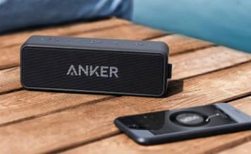 Портативная беспроводная колонка Anker Soundcore 2 black 12 Вт IPX7 Bluetooth 4.2