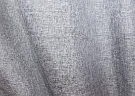 """Однотонна тканина """"Льон мішковина"""". Висота 2,8 м. Колір сірий. 108ш"""