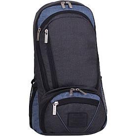 Рюкзак для ноутбука Bagland Granite 23 л. чорн./сірий (0012069)
