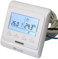 Терморегулятор кнопочный программируемый  для теплого пола Castle M-6.716