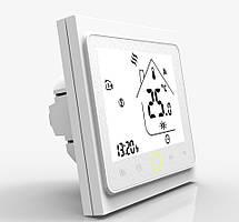 Терморегулятор сенсорный программируемый с модулем WiFi для теплого пола Castle M-6.716