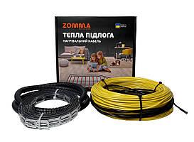 Теплый пол ZOMMA Slim 7- 10,7 м² одножильный не экранированный