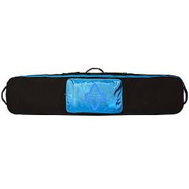 Чохол для сноуборда Born без коліс 156/166 см Чорний/блакитний (0099290)