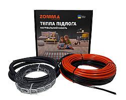Теплый пол ZOMMA Proт 10,5- 16,1 м² двужильный экранированный