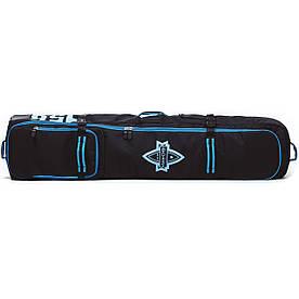 Чохол для сноуборда Born на колесах 156/166 см Чорний/блакитний (0099990)
