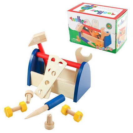 """Дерев'яна іграшка """"Набір інструментів"""""""