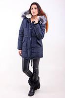 TM Ozze Куртка женская парка зимняя №1 синяя OZZE